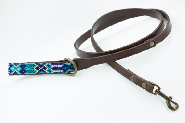 Weave Handle Azulik Leash