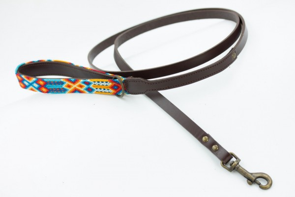 Weave Handle Aurora Leash
