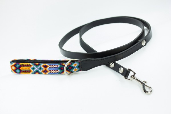 Weave Handle Navajo Leash